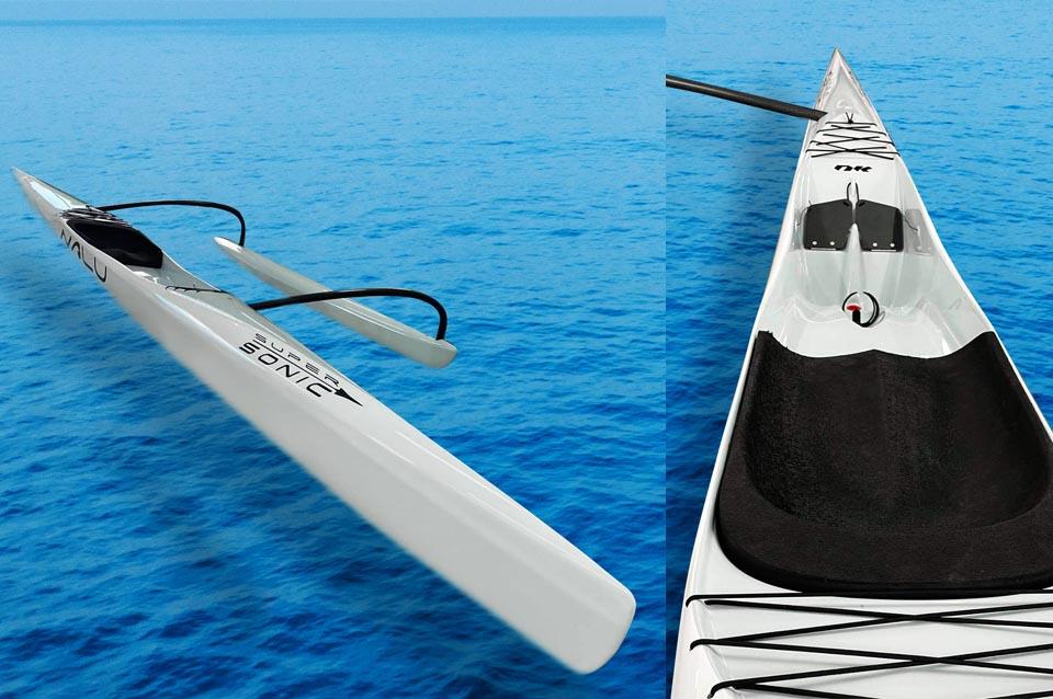hawaiian outrigger canoes